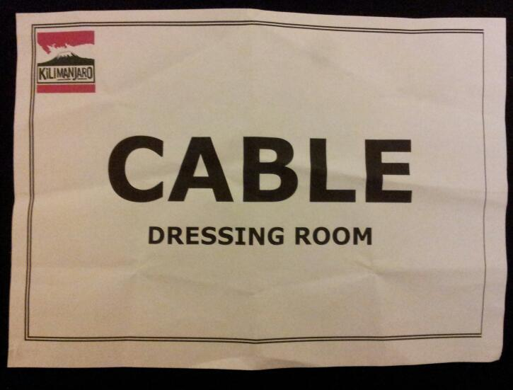 Cable Dressing Room